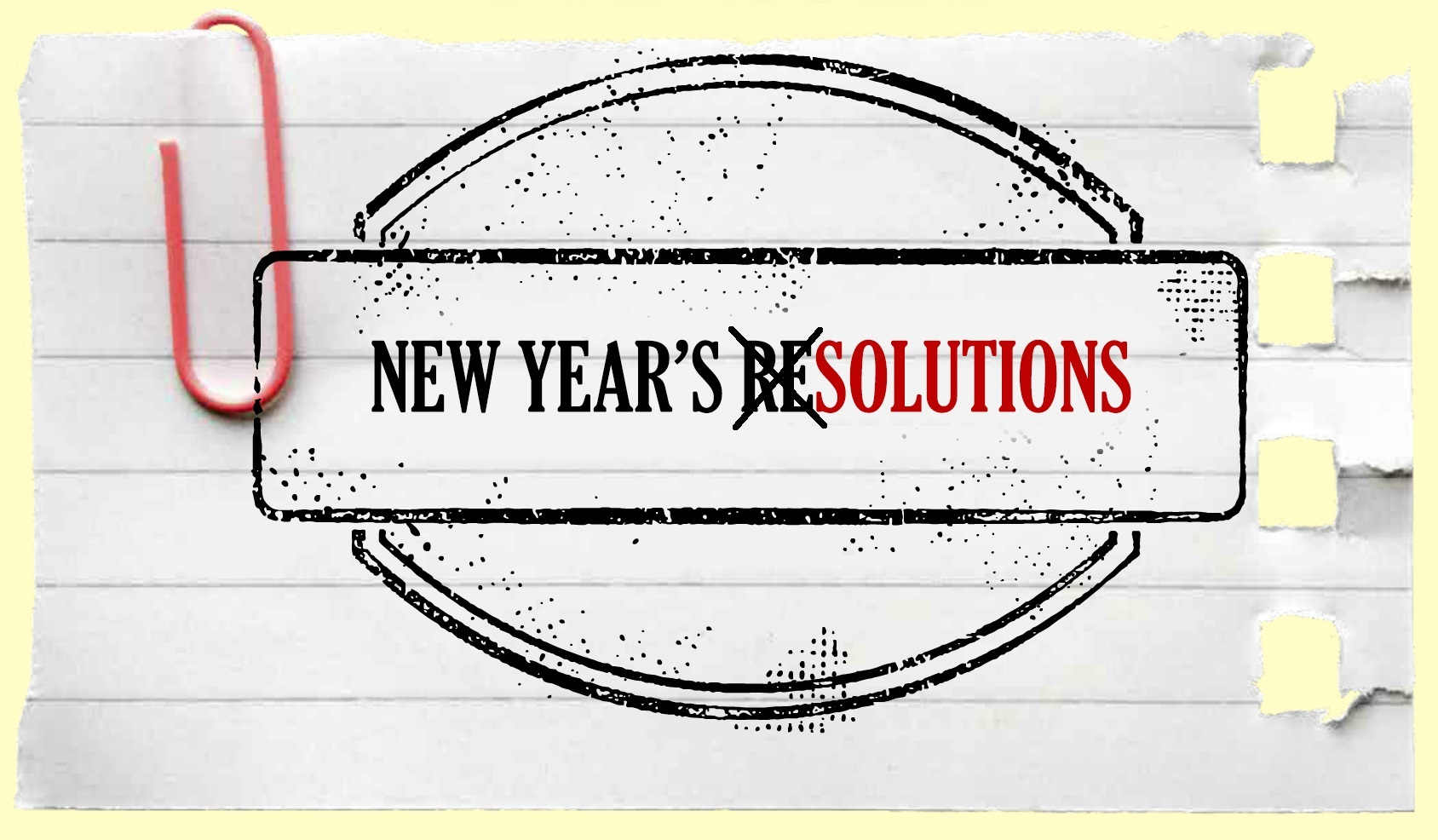 New Year's Solutions