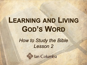 The Role of Reason in Understanding Scripture
